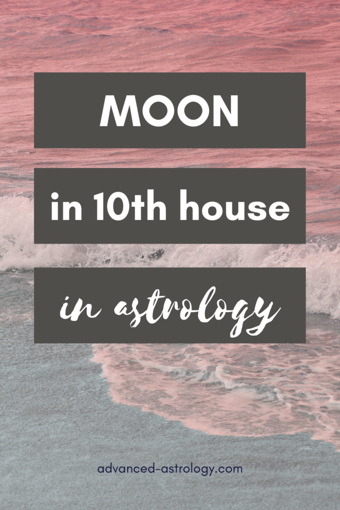 moon in 10th house