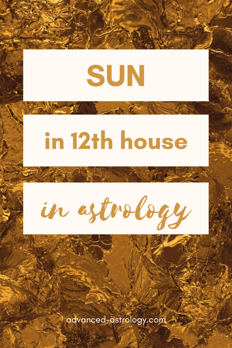 What is my 12th house astrology sign