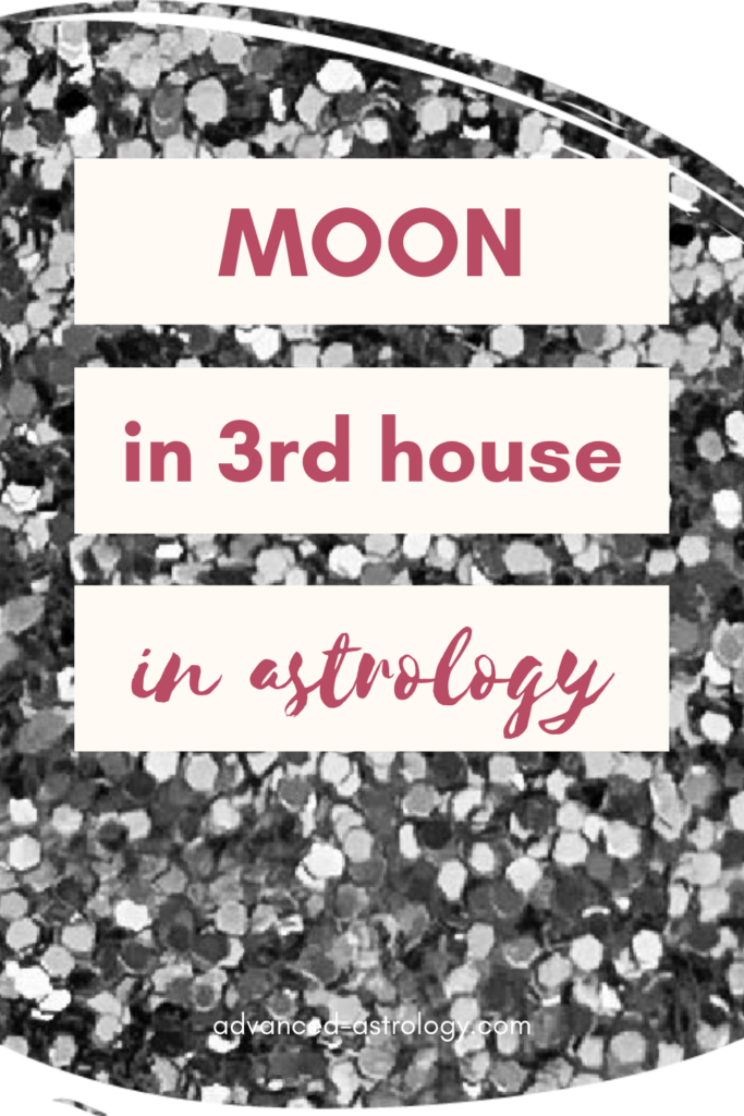 moon in 3rd house