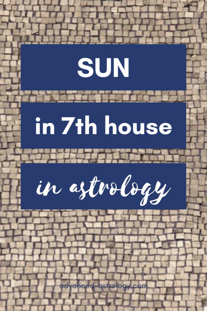 sun in 7th house