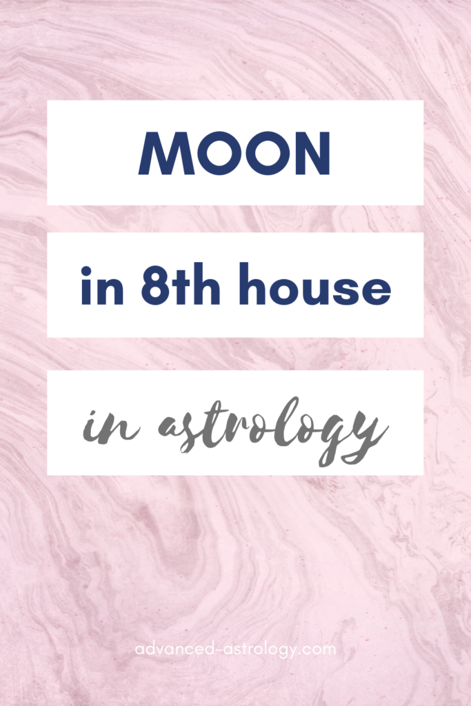 moon in 8th house