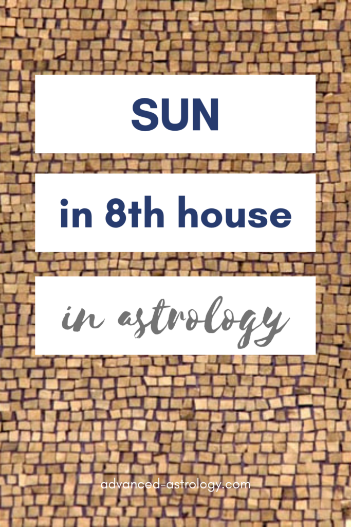 sun in 8th house