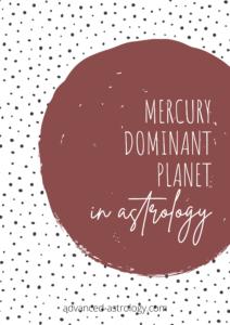 Mercury dominant planet