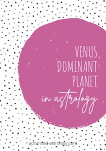 Venus dominant planet