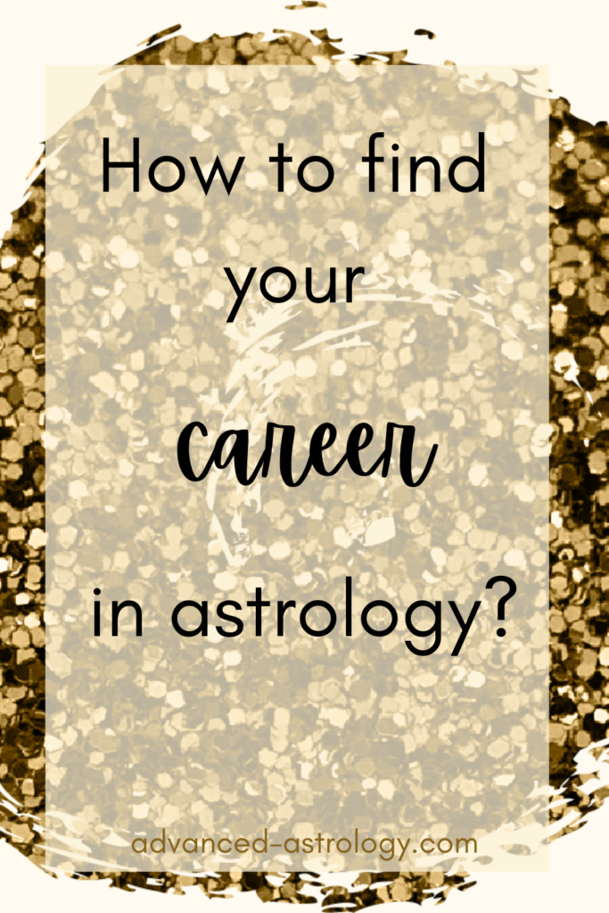 career based on astrological chart