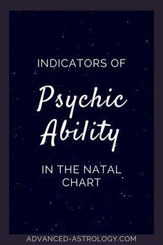 psychic talent birth chart