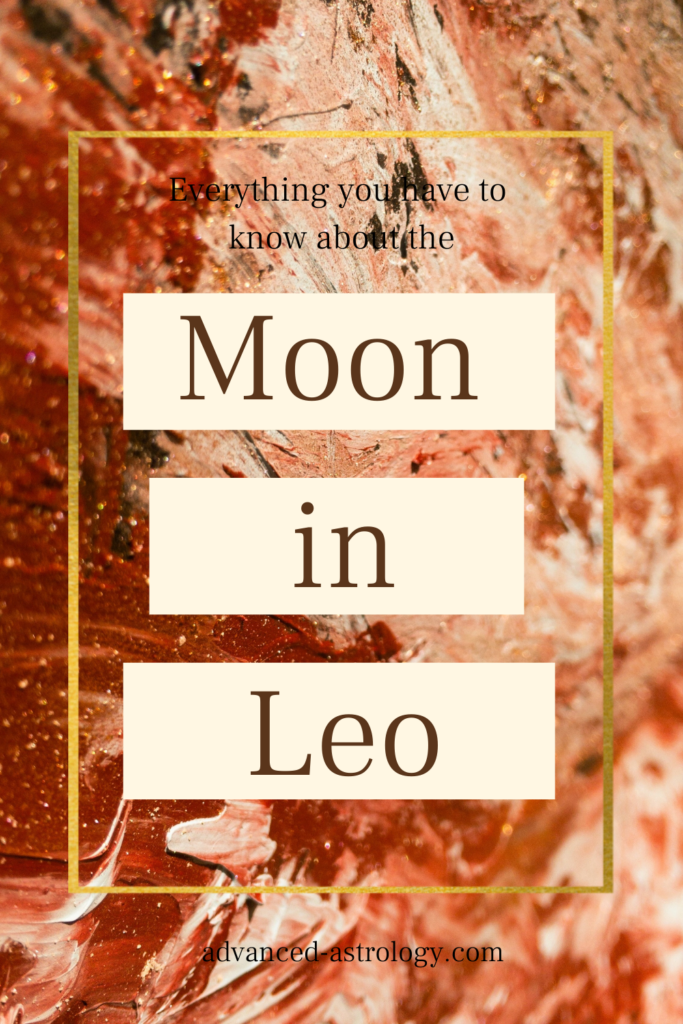 leo moon strengths weaknesses