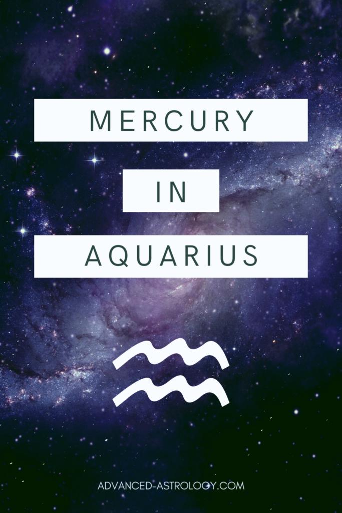 Mercury in Aquarius